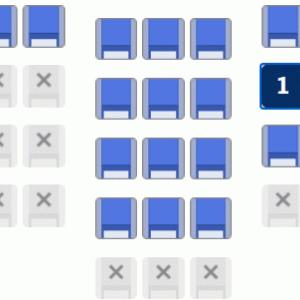 ANA 特典と有償の座席指定