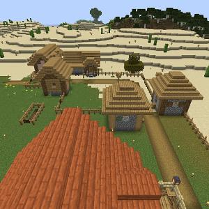 ヨメノ村の村人に家を!