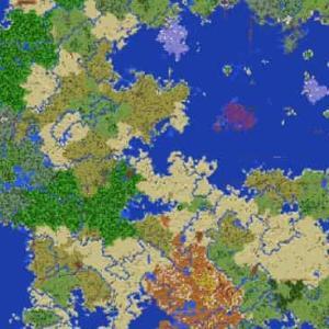 レアバイオームに囲まれた神スタート!海の中心や化石も発見!海底神殿多数!チェスト多数! ☆ 784913433 ☆