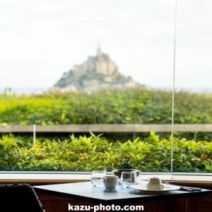 モンサンミッシェルに一番近いホテル ルレサンミッシェルで朝食!