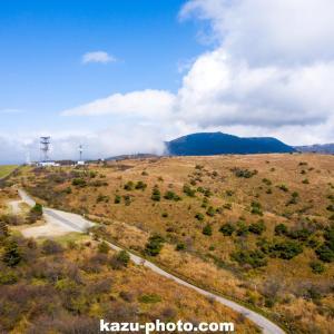 絶景の高ボッチ高原をドローンで空撮@長野県の塩尻市