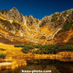 秋の千畳敷カールで撮影した風景写真!@長野で絶景の紅葉スポット