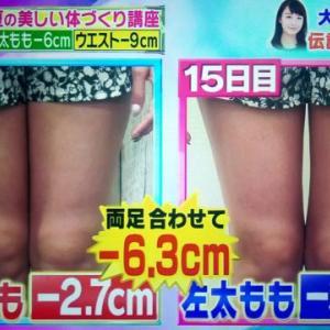 【林修の今でしょ講座】脂肪ほぐしダイエットのやり方 大島由香里さんがガチ検証