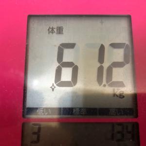 体重測定19.11.30