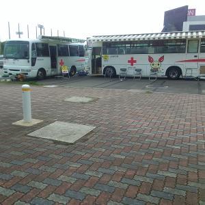 【献血】51回目はイオンの献血バスで。