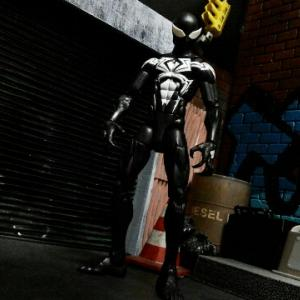 マーベルレジェンド キングピンシリーズ シンビオートスパイダーマン