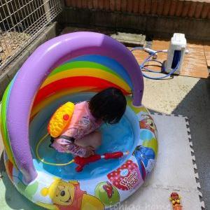 【 水遊び 】自宅プール、オープンしました!