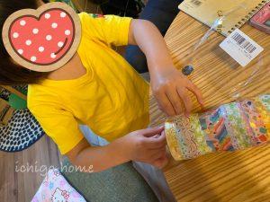 超簡単!ペットボトル・空きケースで水鉄砲作り!可愛い、4歳娘も張り切ってました!
