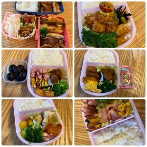 【 幼児弁当 】フォークとスプーンで食べられる物をメインに作った!