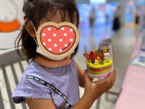 【 横浜 】すみっこくらしのジェルキャンドル作り!5歳女の子は思うままに大興奮!!
