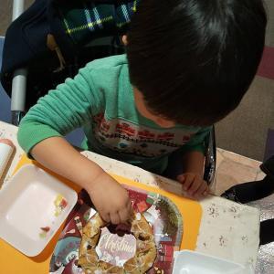 仙台市 長町 ララガーデン 4歳の僕も作ったよ