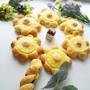 パンのお花がぱぁ~と咲いたよ