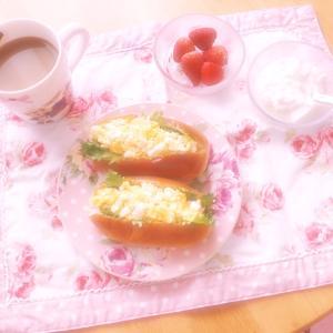 ♡お泊りの日の朝は♡