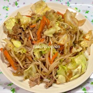 中華風野菜炒めを調理