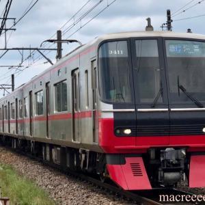 名鉄電車3300系3311F