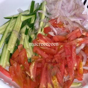 野菜サラダを作り置き