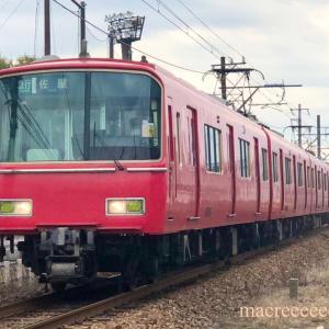 名鉄電車6500系金魚鉢 ・ 6518F