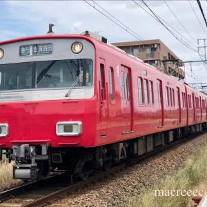 名鉄6500系5次車鉄仮面 ・ 6517F