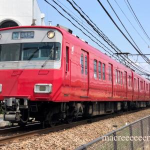 名鉄6500系1次車鉄仮面 ・ 6504F