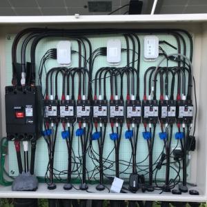 遠隔監視装置ソーラーレモン試作機を設置する方法