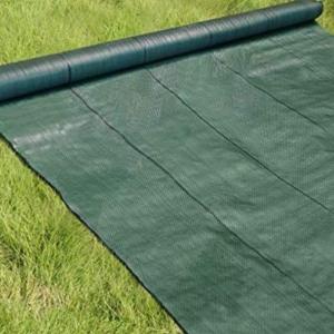 防草対策完了!パネルの前には2m幅の防草シートがおすすめ