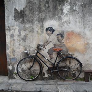 壁画とワイヤーアートを探しながら、ジョージタウンの街歩き【2】