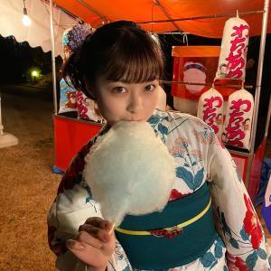 橋本環奈(21)夏祭りの浴衣姿が天使過ぎてヤバいと!