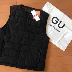 【GU】話題のセーター買えず。メンズベストを買う