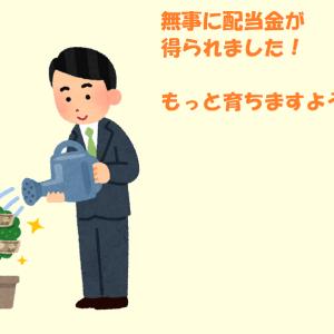 日本製紙(3863)からの配当金。(¥10/株)