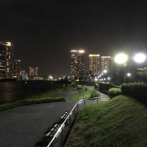 【再び月島へ】ペットと一緒に過ごせるウィークリーマンションを再度契約。夜の墨田川はおススメスポットの一つになりました。