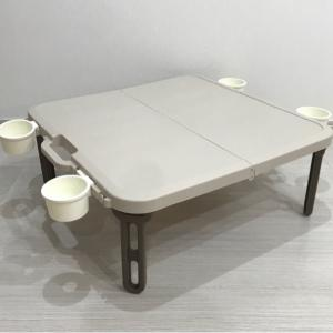 ピクニック・運動会に必須の折りたたみテーブル♫軽くて、持ち運びが簡単‼︎お値段も安いアウトドアテーブル♡