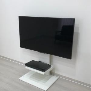 壁掛け風テレビ台!シンプルなテレビ台のWALL!お部屋改造計画Part1