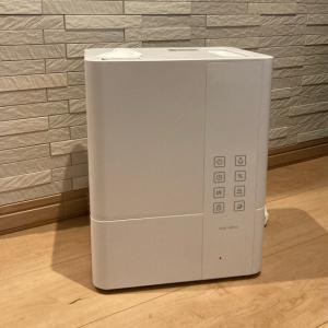乾燥対策!お手入れ簡単の加湿器!ハイブリッドタイプで電気代も節約♫