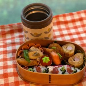 魚肉ソーセージ玉子巻き弁当