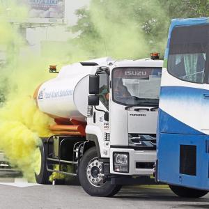 ペナンブリッジ・接触事故3人死亡 タンカーからアンモニアガス化学物質 201911月7日