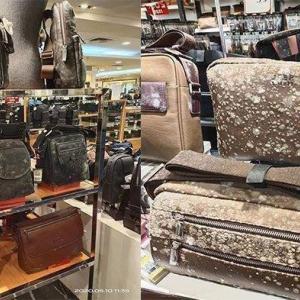 ビジネスショッピングモール再開も・・・バッグ財布に大量のカビが‥Covid19