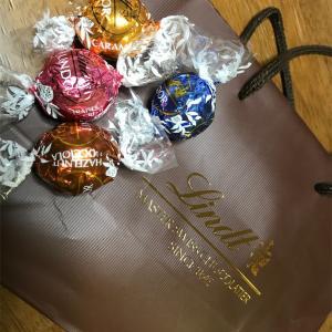 リンドールチョコレート選び 今日の捨て活動