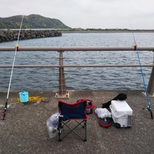 大磯港 西堤防 ちょい投げでシロギス釣るぞー!