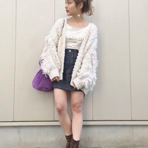 今冬の女装旅行の時の服装