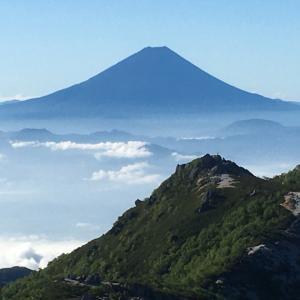 鳳凰三山を満喫!!(6)薬師岳~観音岳