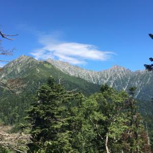 西穂山荘~焼岳小屋(6)西穂高岳~焼岳~上高地縦走