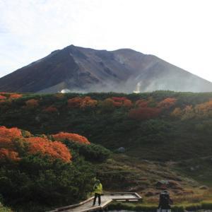 大雪山旭岳ロープウェイ(3)大雪山縦走3日間  旭岳~トムラウシ