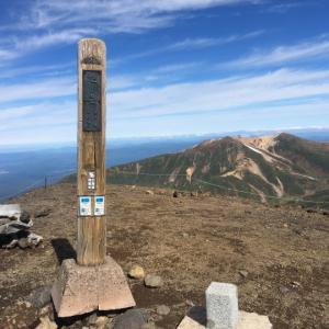 姿見の池~旭岳山頂(5)大雪山縦走