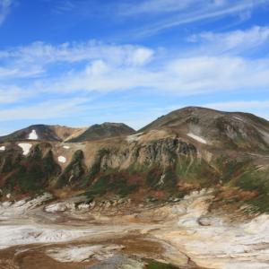 絶景の旭岳山頂~北海岳へ(6)大雪山縦走3日間 旭岳~トムラウシ