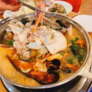 具だくさんの贅沢ヘムルタン(海鮮鍋)が最高だった話。(スープでお酒がすすむ)