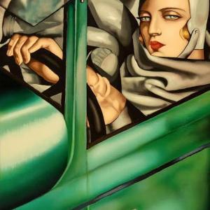No.0222  美しきモダンガール、タマラ・ド・レンピッカが描いたモダンにして強靭なアート。