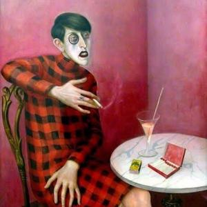 ロマンティークNo.225 魔術的リアリズム絵画、或いは現実と非現実の接点に佇むメランコリー。