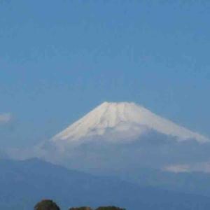 今日の富士山(2020/1/20)