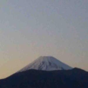 今日の富士山(2020/2/18)