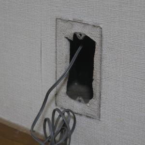 配管紐吸出装置(インターネット光回線を通したい)